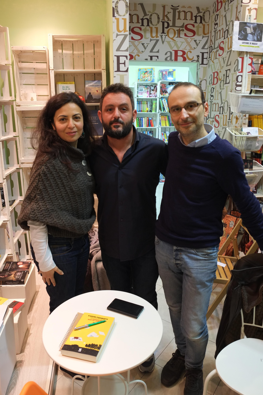Enrica Buongiorno, Stefano Piedimonte, Gianluca Calvino